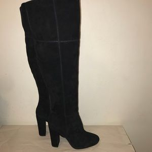 Gianni Bini knee high leather boots